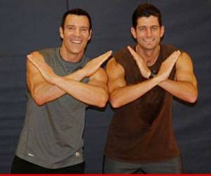 Paul Ryan & Tony Horton of P90X Fame