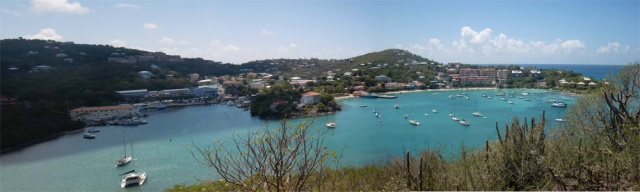 Cruz Bay Panorama