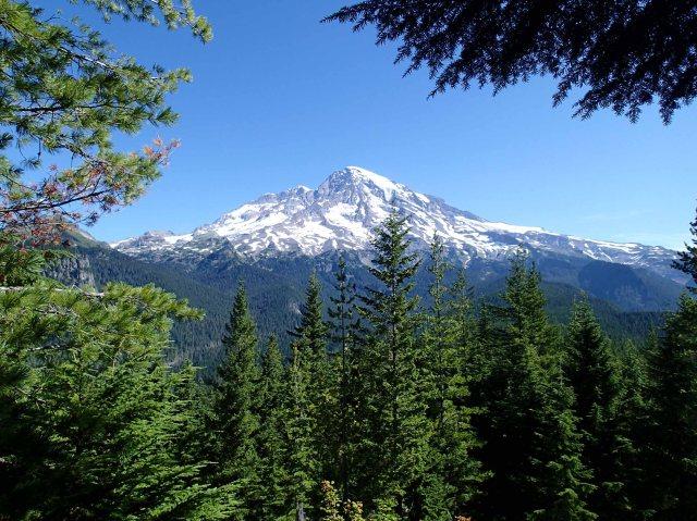 Rainier view from Rampart Ridge