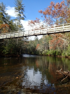 Toccoa River along the BMT
