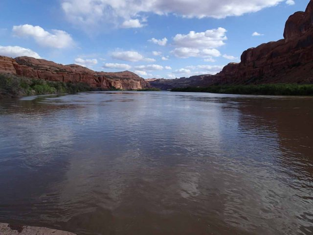Colorado River along Potash Road