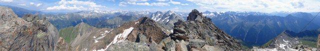Ahornspitze panorama