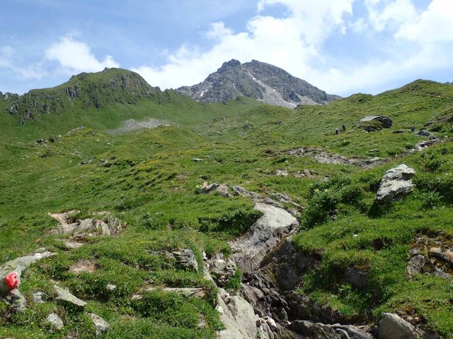 Our destination: the Ahornspitze