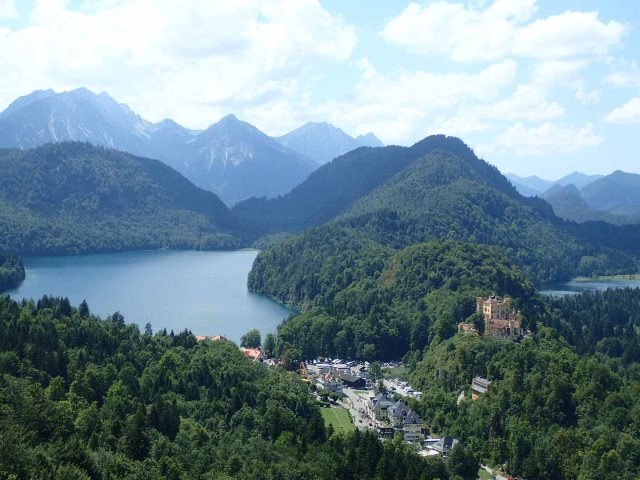 Hohenschwangau and Alpsee