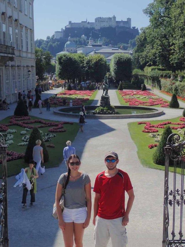 Salzburg, Mirabell gardens