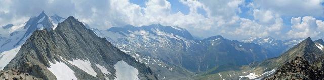Schönbichler Horn panorama